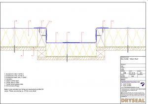 Dryseal Drawing Box Gutter Detail