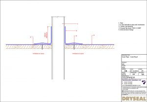 All roof pipe penetration and detail congratulate