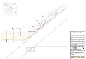 Dryseal Drawing Layboard Detail