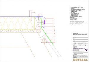 Dryseal Drawing Mansard Edge Detail Warm Roof
