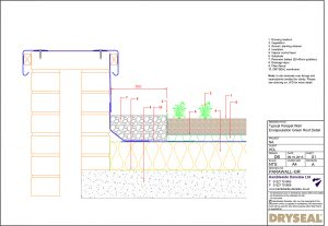 Dryseal Drawing Parapet Wall Encapsulation