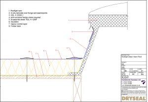 Dryseal Drawing Rooflight Detail