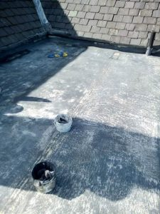 During the application of Dryseal